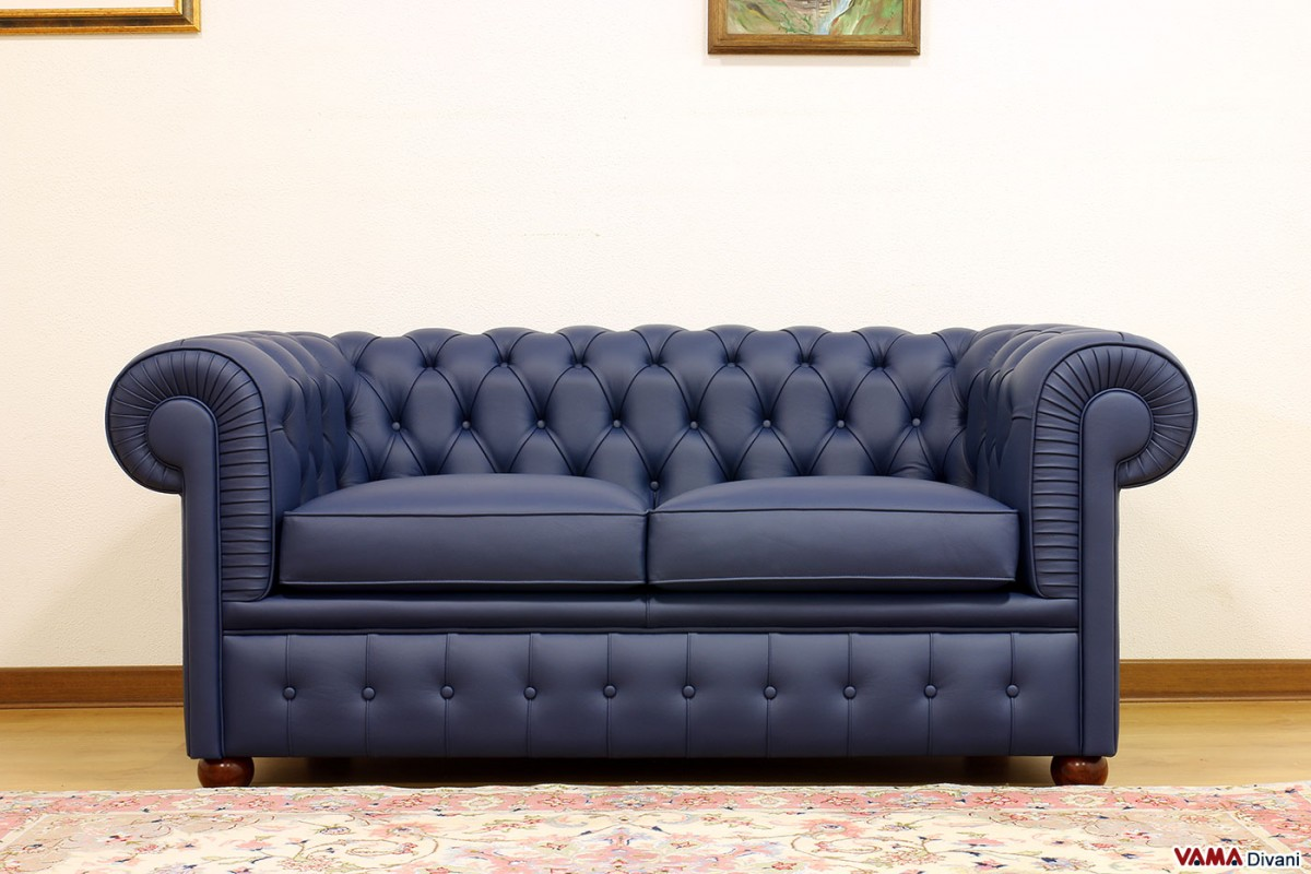 Chesterfield 2 seater sofa Price, Upholstery and Dimensions