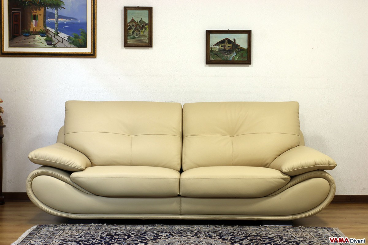 contemporary white leather sofa price and dimensions. Black Bedroom Furniture Sets. Home Design Ideas