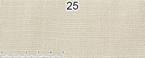 Ice-coloured cotton and linen fabric