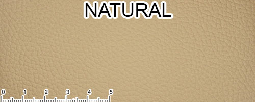 Natural Top Grain Leather