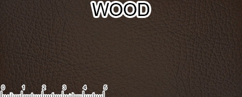 Wood Top Grain Leather