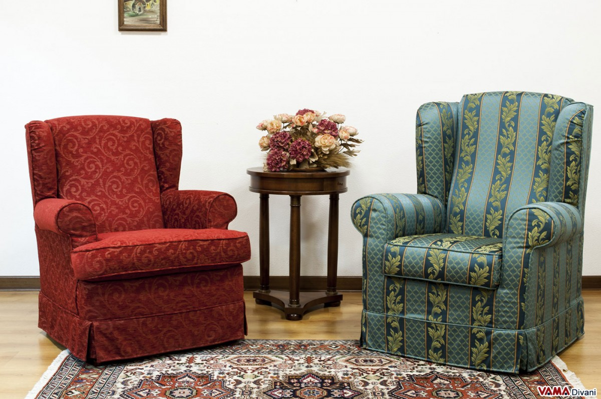 Small Armchairs For Bedrooms Small Bergere Fabric Armchair