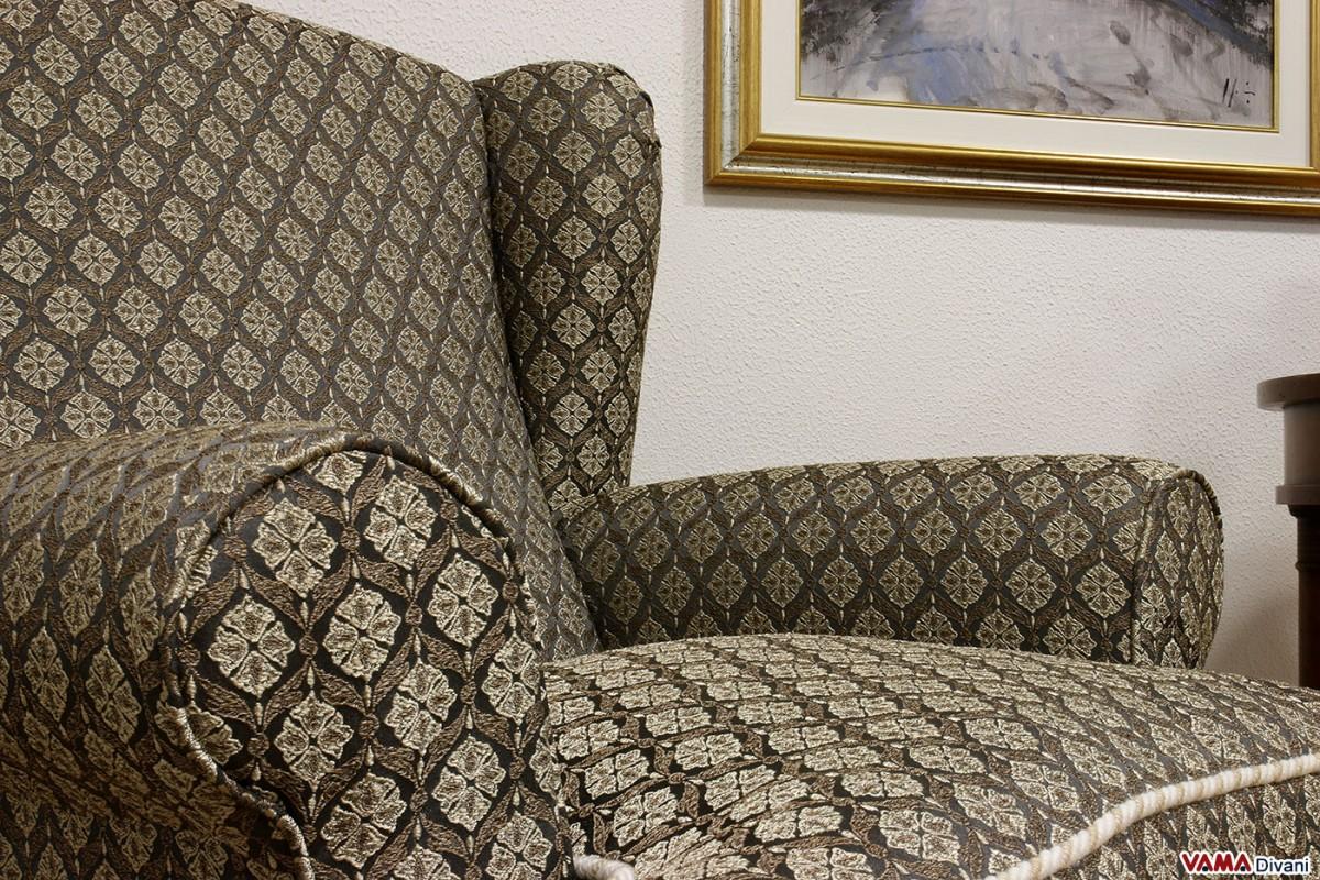 small bergere fabric armchair fabric arm chair goolba