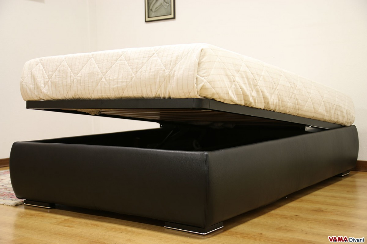 Queen Size Bed 120 Cm With Storage Box