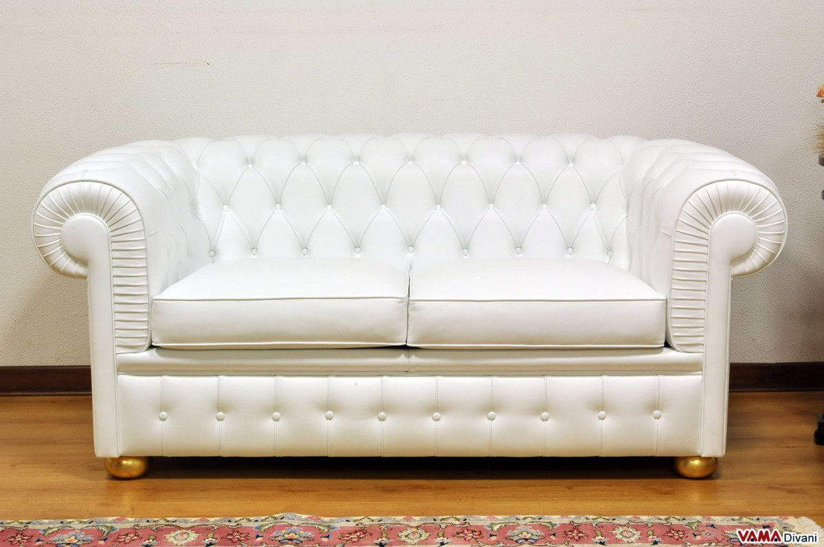 White Leather 2 Seater Sofa 2 Seater Leather Sofas In White Best Choice To Brighten Up Your