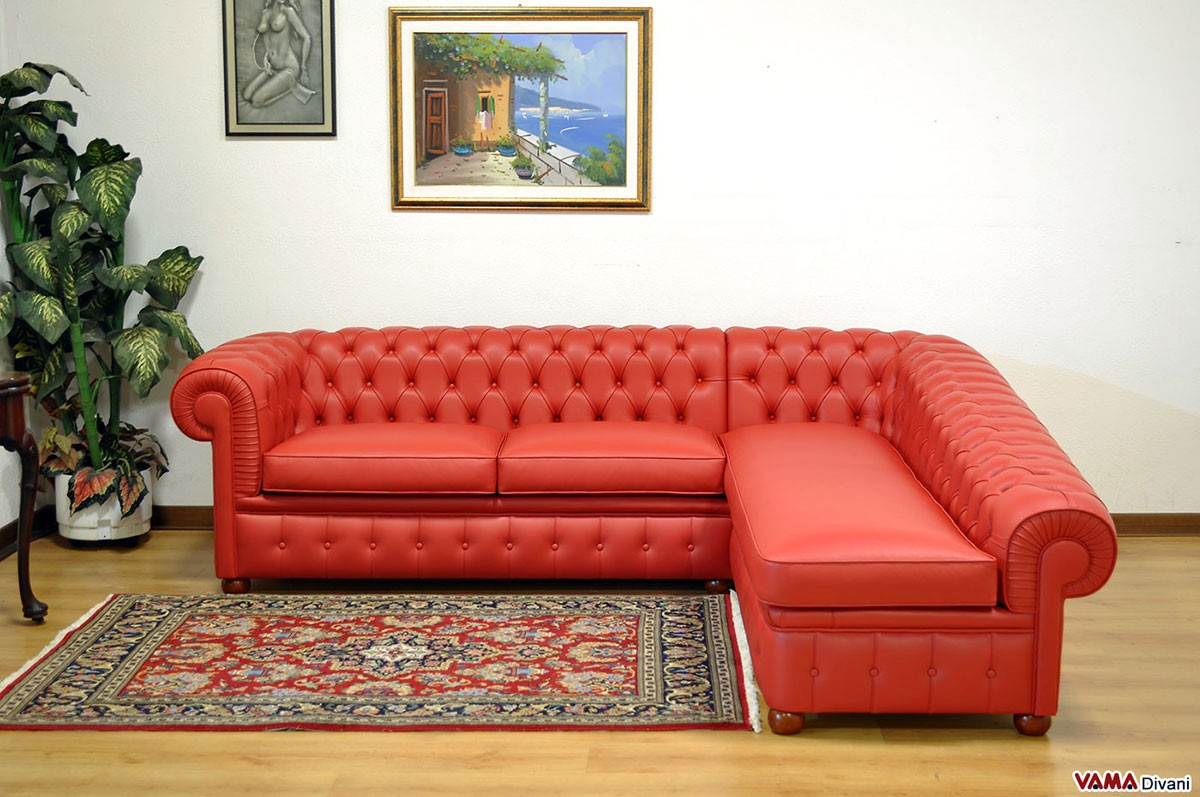 Chesterfield corner sofa price and sizes for Sofa chester chaise longue