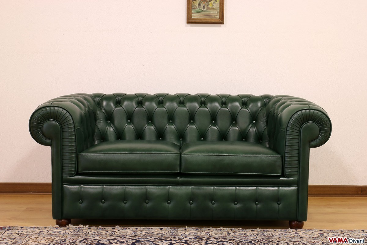 Chesterfield 2 seater sofa price upholstery and dimensions for Couch chesterfield