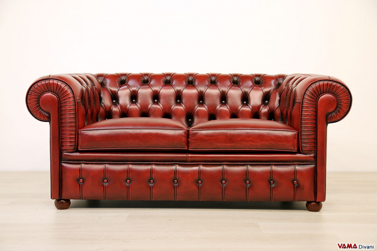 red leather chesterfield sofa chesterfield 2 maxi seater sofa two large cushions thesofa. Black Bedroom Furniture Sets. Home Design Ideas