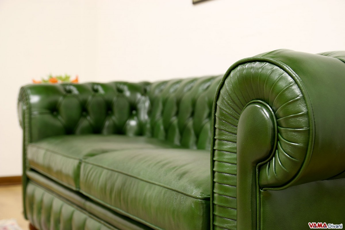 Green Leather Chesterfield Sofa Creative Of Green Leather Chesterfield Sofa Best Images About