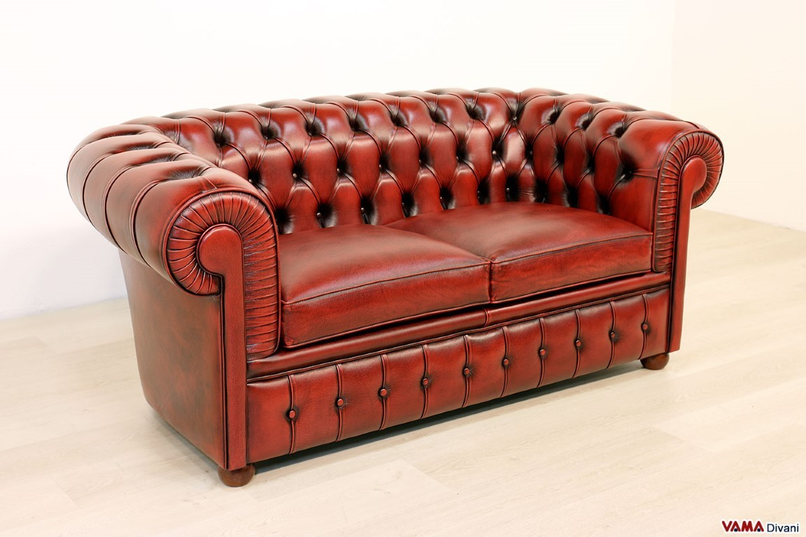 Chesterfield 2 seater sofa | Price, Upholstery and Dimensions