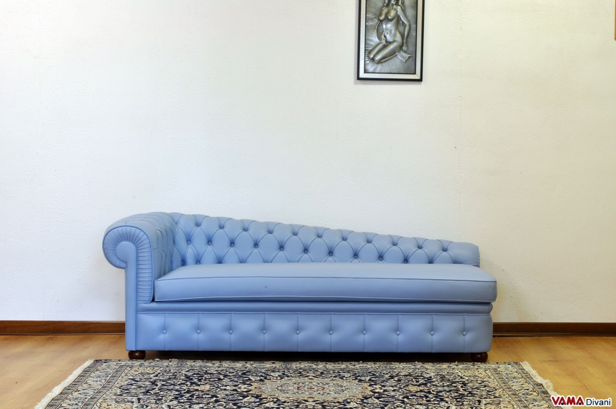Chesterfield Leather Chaise Longue Price And Sizes