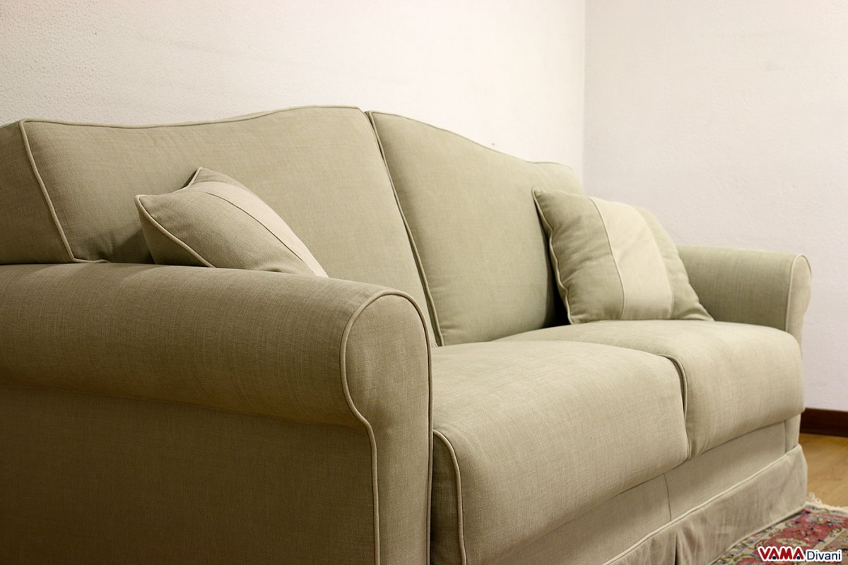 Galles: Classic Double Sofa Bed