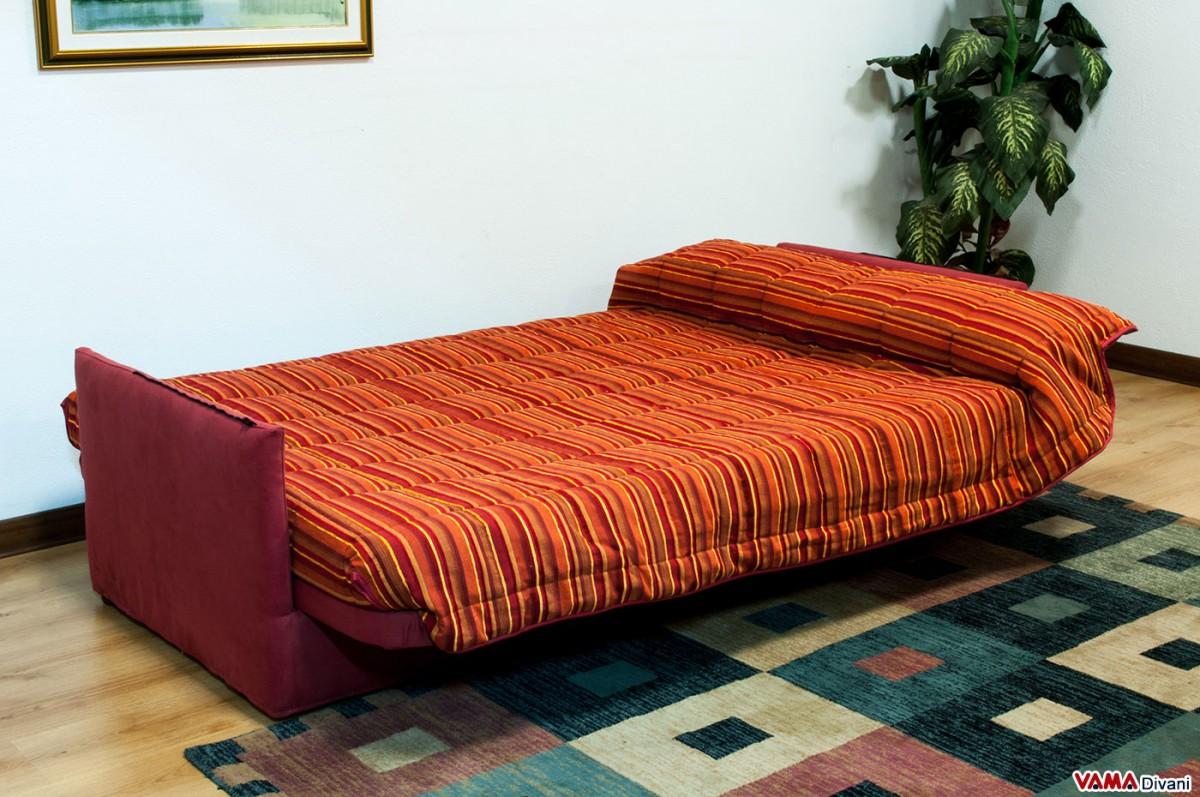fold down sofa bed with slatted base. Black Bedroom Furniture Sets. Home Design Ideas