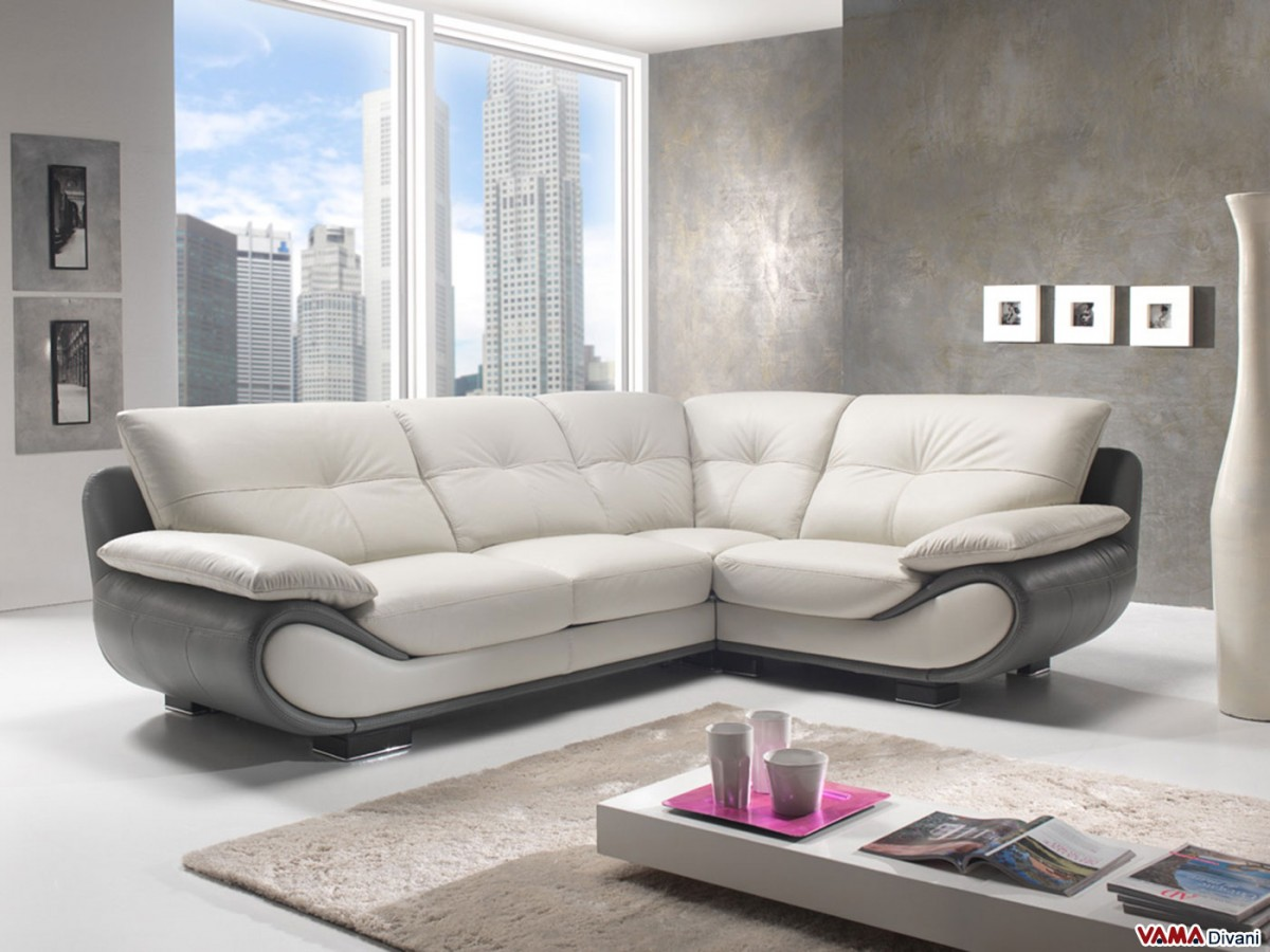 Contemporary white leather sofa price and dimensions Contemporary leather sofa