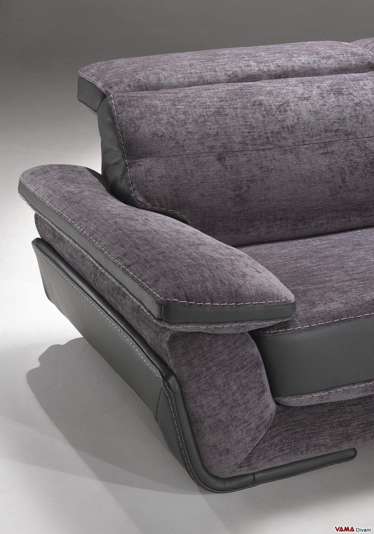 sofa headrest. contemporary fabric sofa with recliner headrests headrest