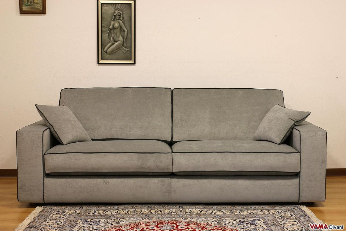 Contemporary Sofa Fabric Leather And Even Custom Sofa