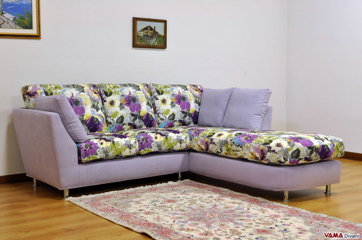 Corner Sofa Of Small Dimensions Custom Sizes Available