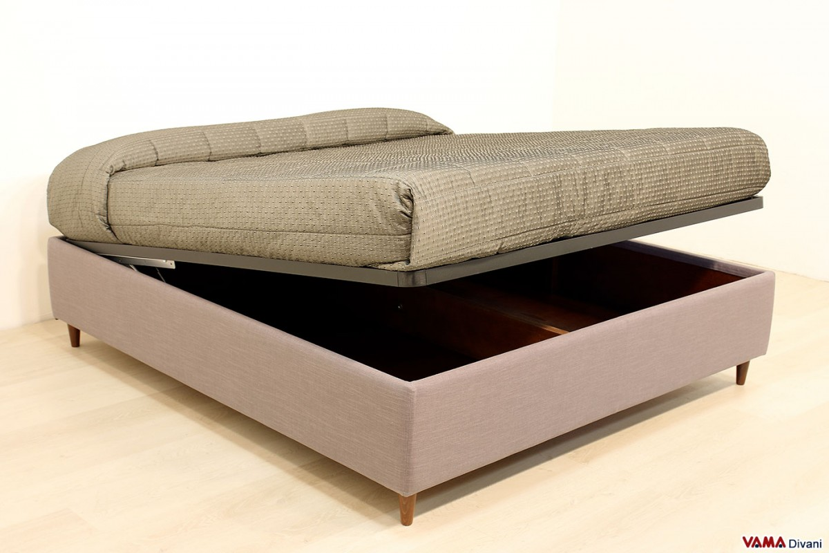 Sommier Double Bed Also Available With Custom Storage Box