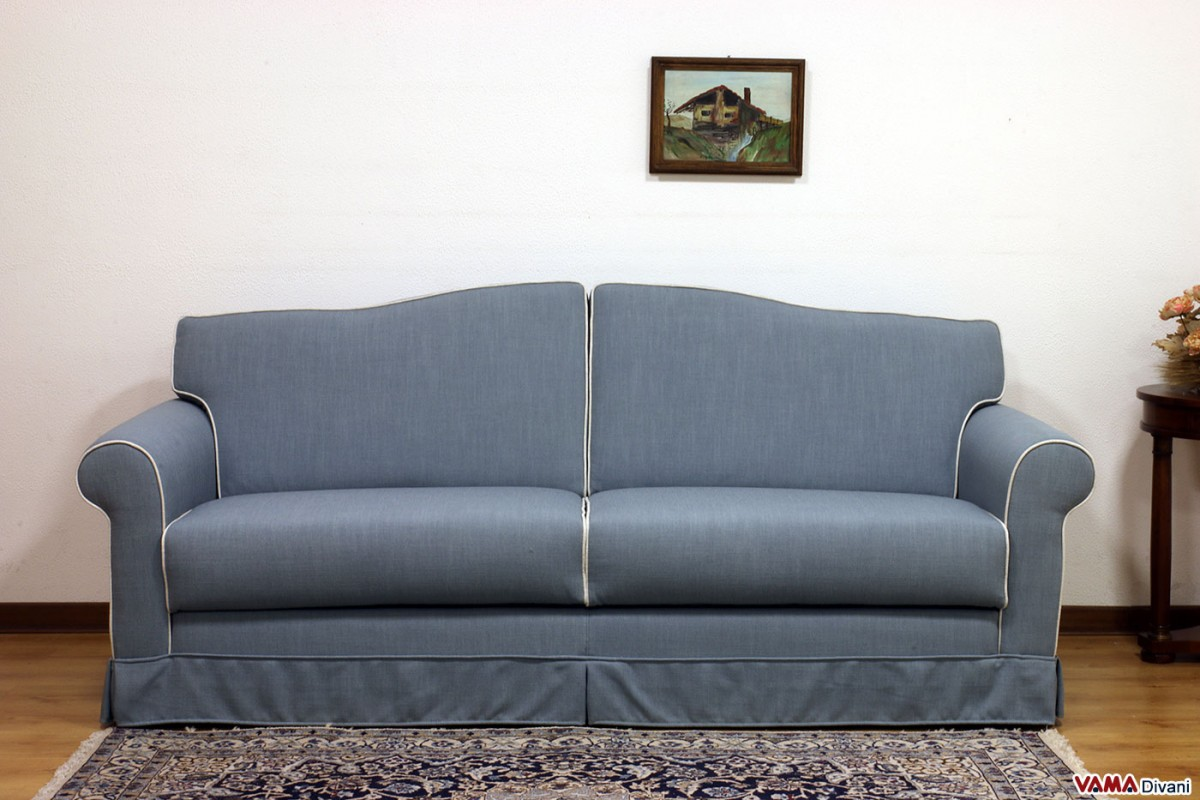 Classic Fabric Double Sofa Bed