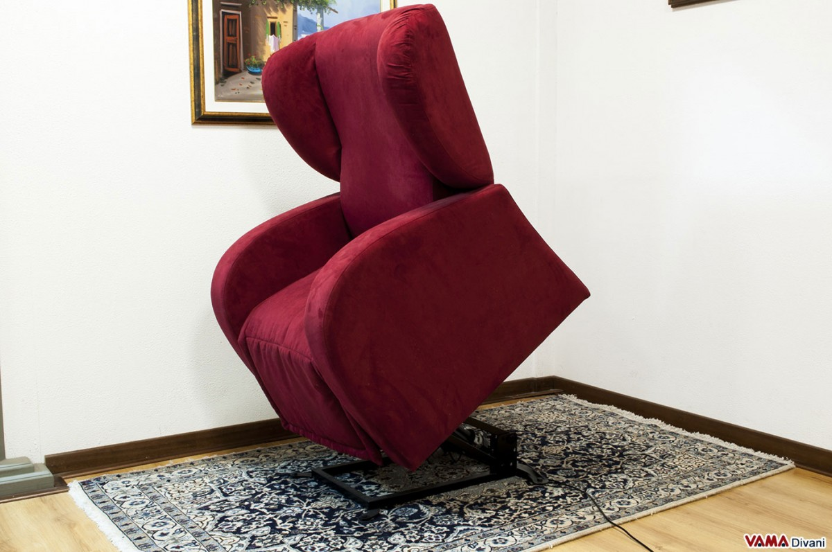 Dual Motor Electric Riser And Reclining Armchair