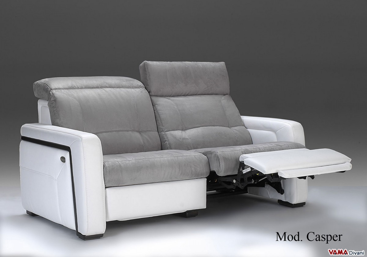 Electric Reclining Sofa Without Remote Control