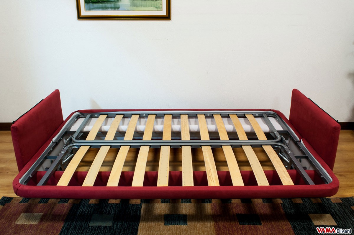 Fold Down Sofa Bed With Slatted Base