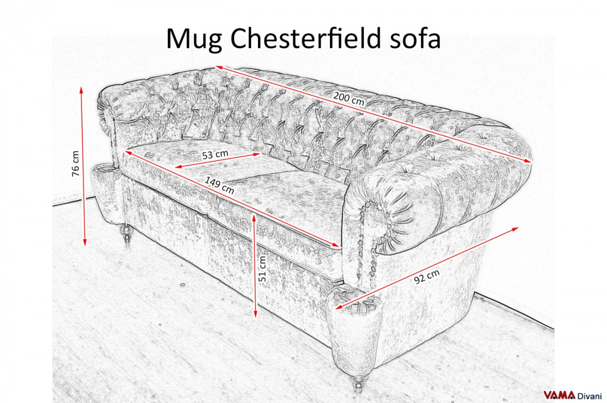 Chesterfield Sofa Dimensions Chesterone Sofa Deeper Chesterfield White TheSofa
