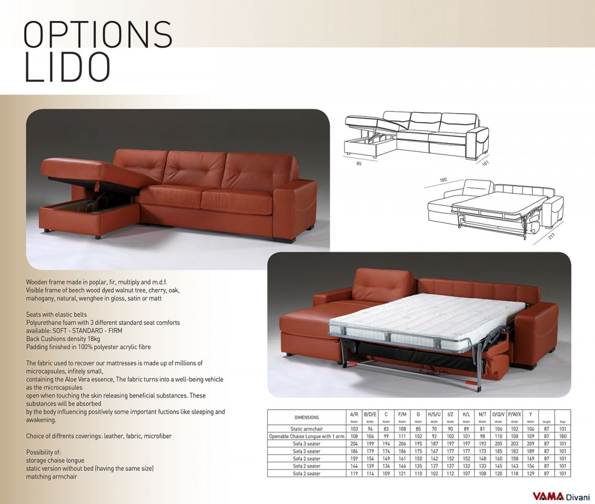 Astounding Corner Sofa Bed In Leather With Storage Uwap Interior Chair Design Uwaporg