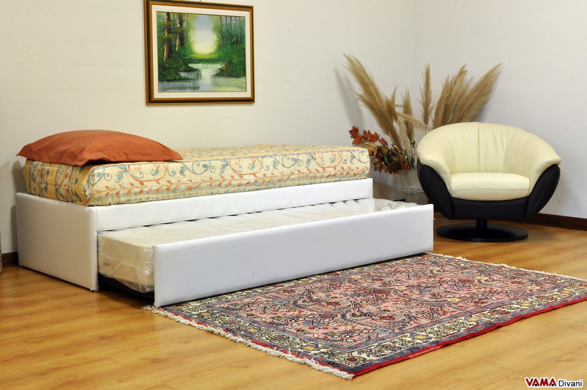 Pull out guest bed with slatted base for Beds 4 u ottery