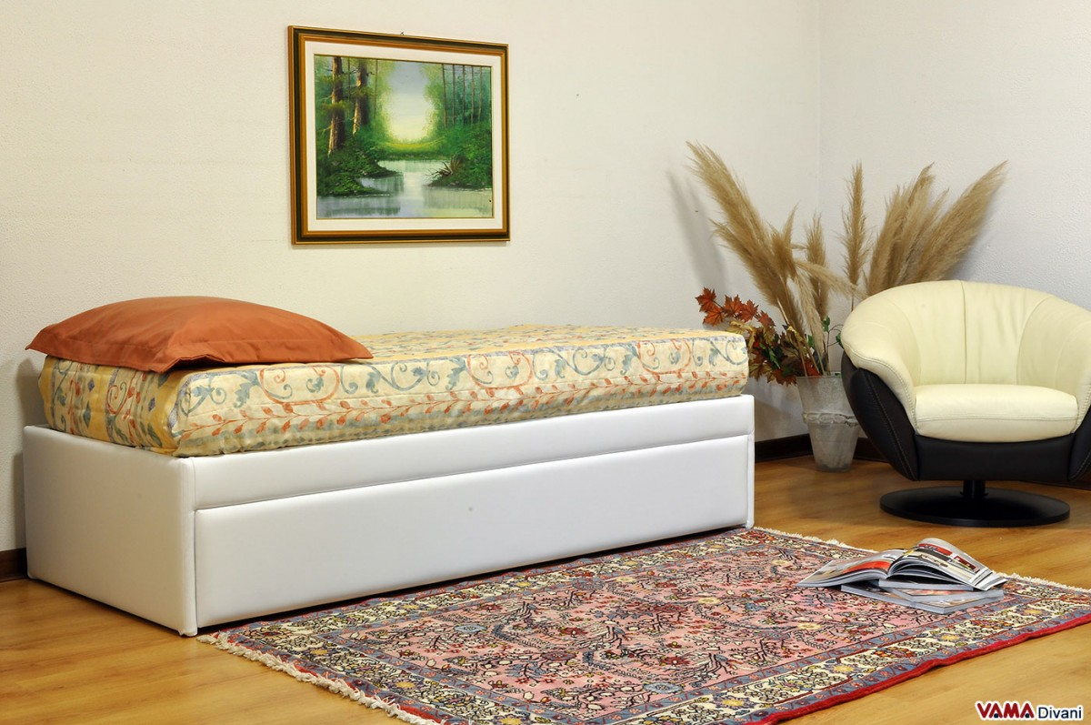 Pull Out Guest Bed With Slatted Base