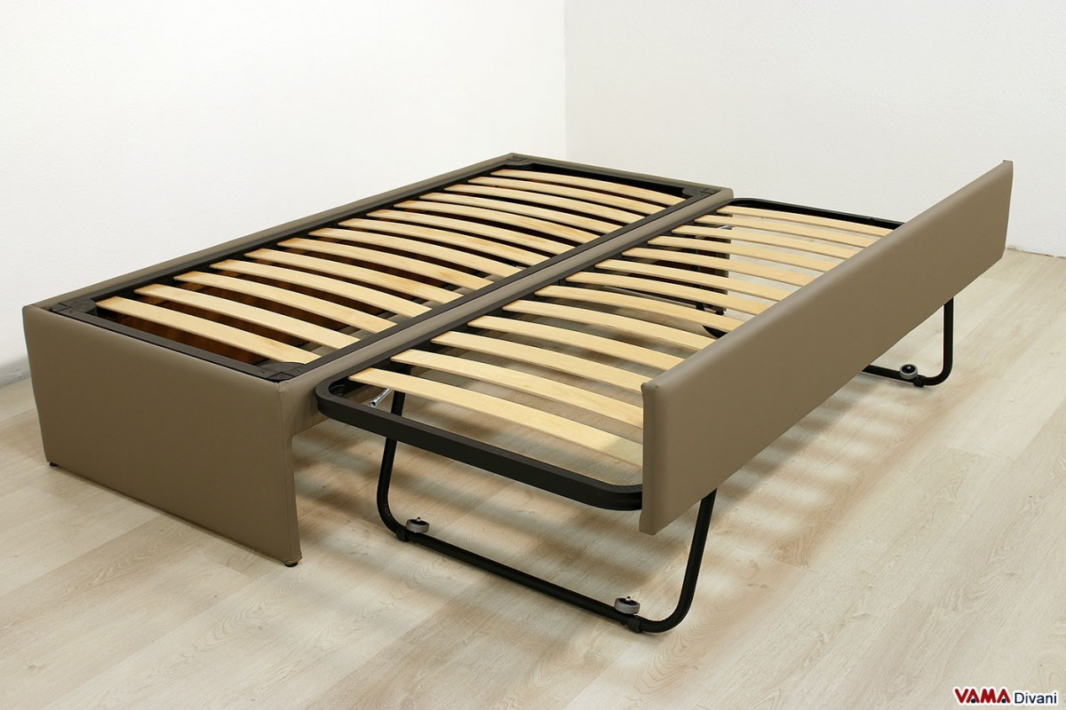 Pull out guest bed with slatted base for Pull out bed
