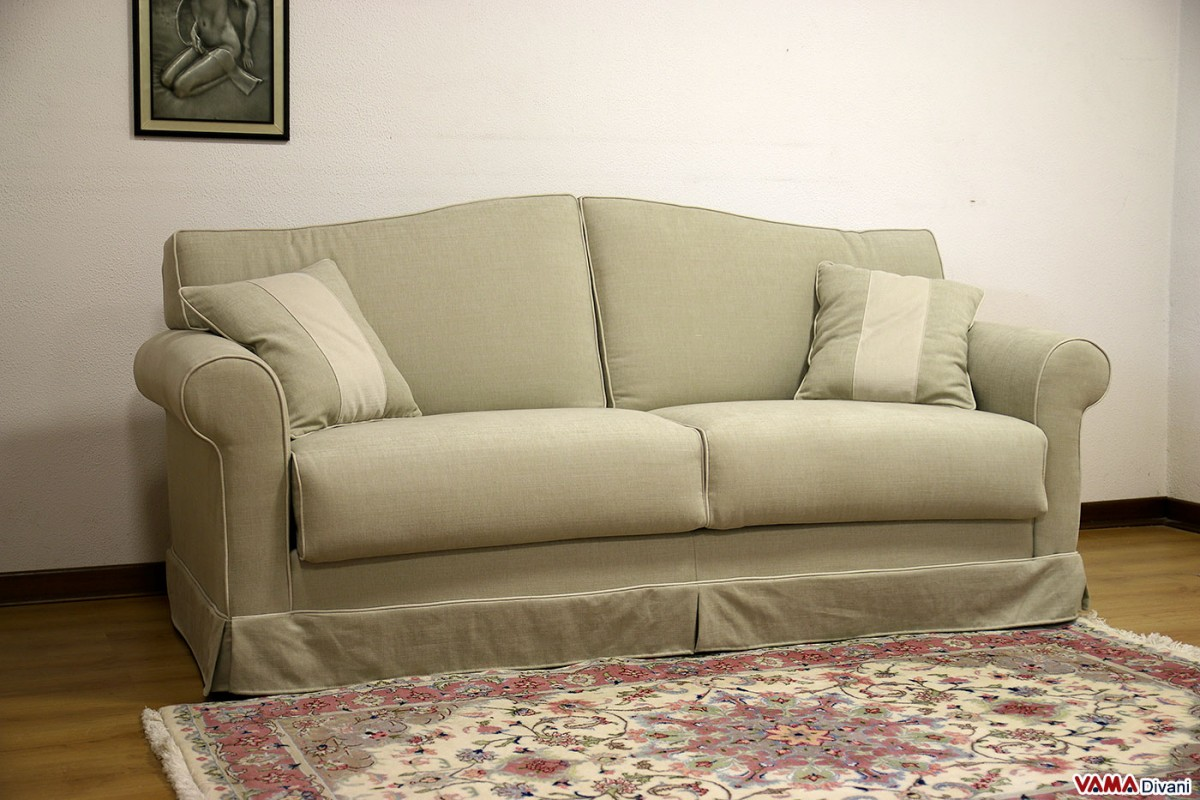 Classic fabric double sofa bed - What is a sofa bed ...
