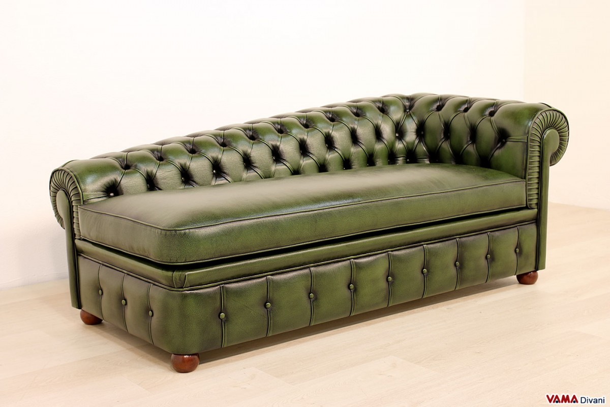 Chesterfield leather chaise longue price and sizes for Sofa chaise longue
