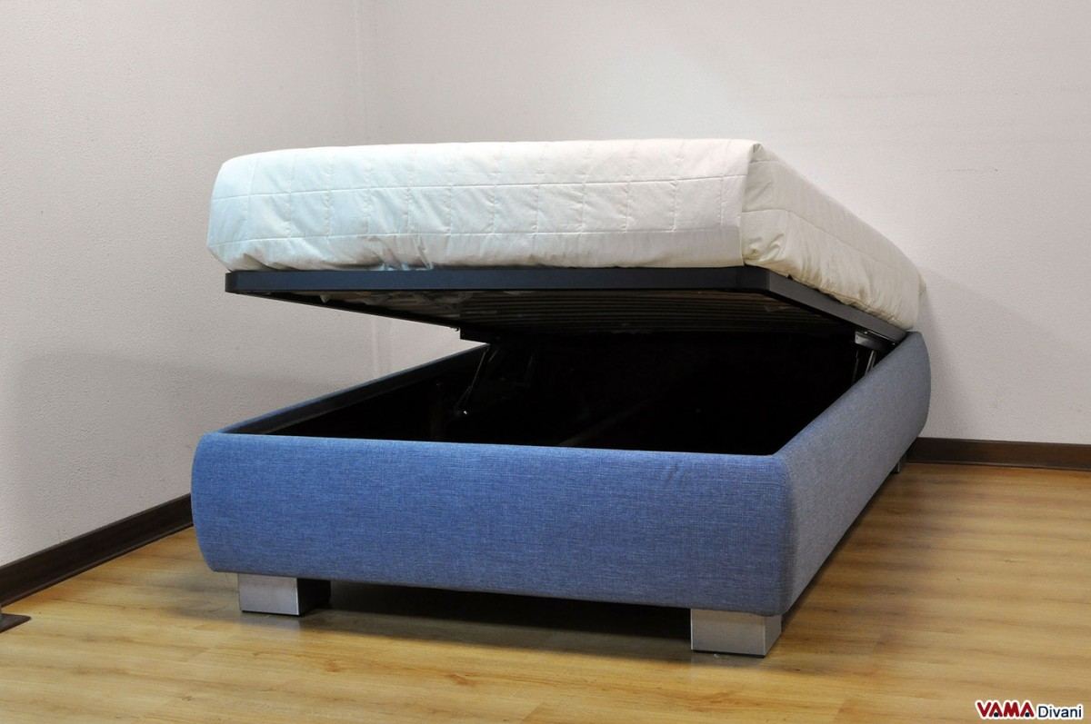 Queen size bed 120 cm with storage box Mattress queen size