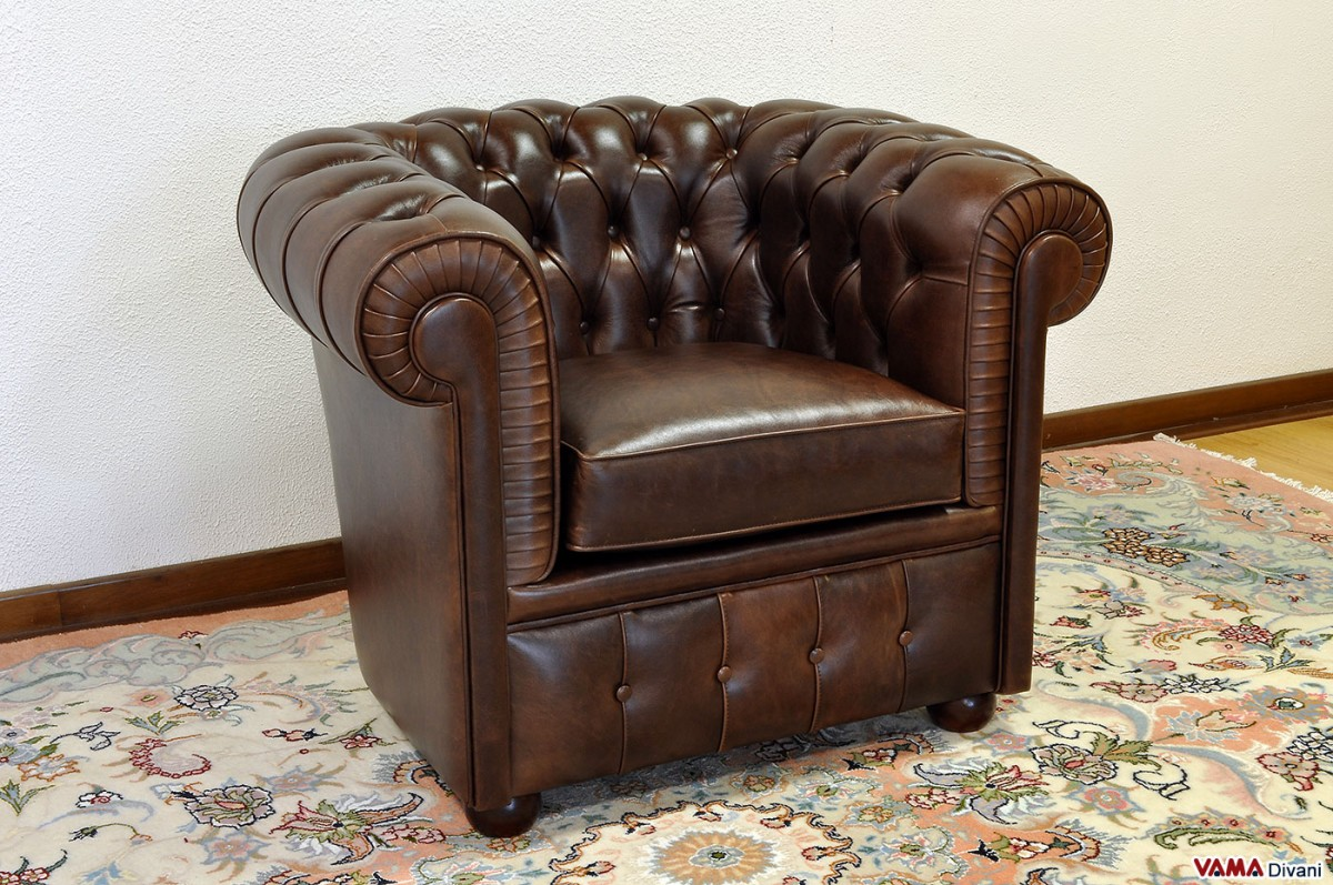 Chester Armchair Of Small Size Chesterina Armchair