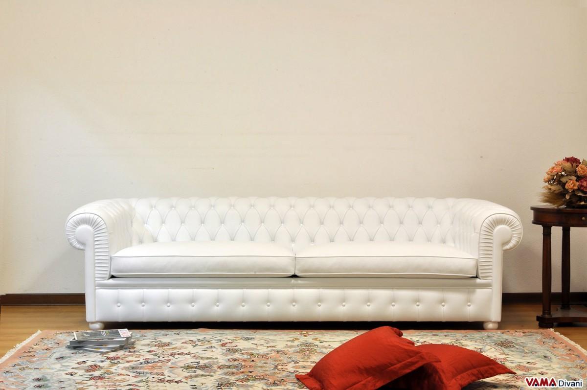 Good White Chesterfield Sofa