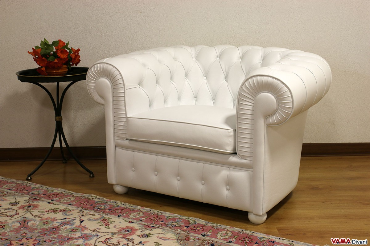Chesterfield armchair | Price, Size & Upholstery