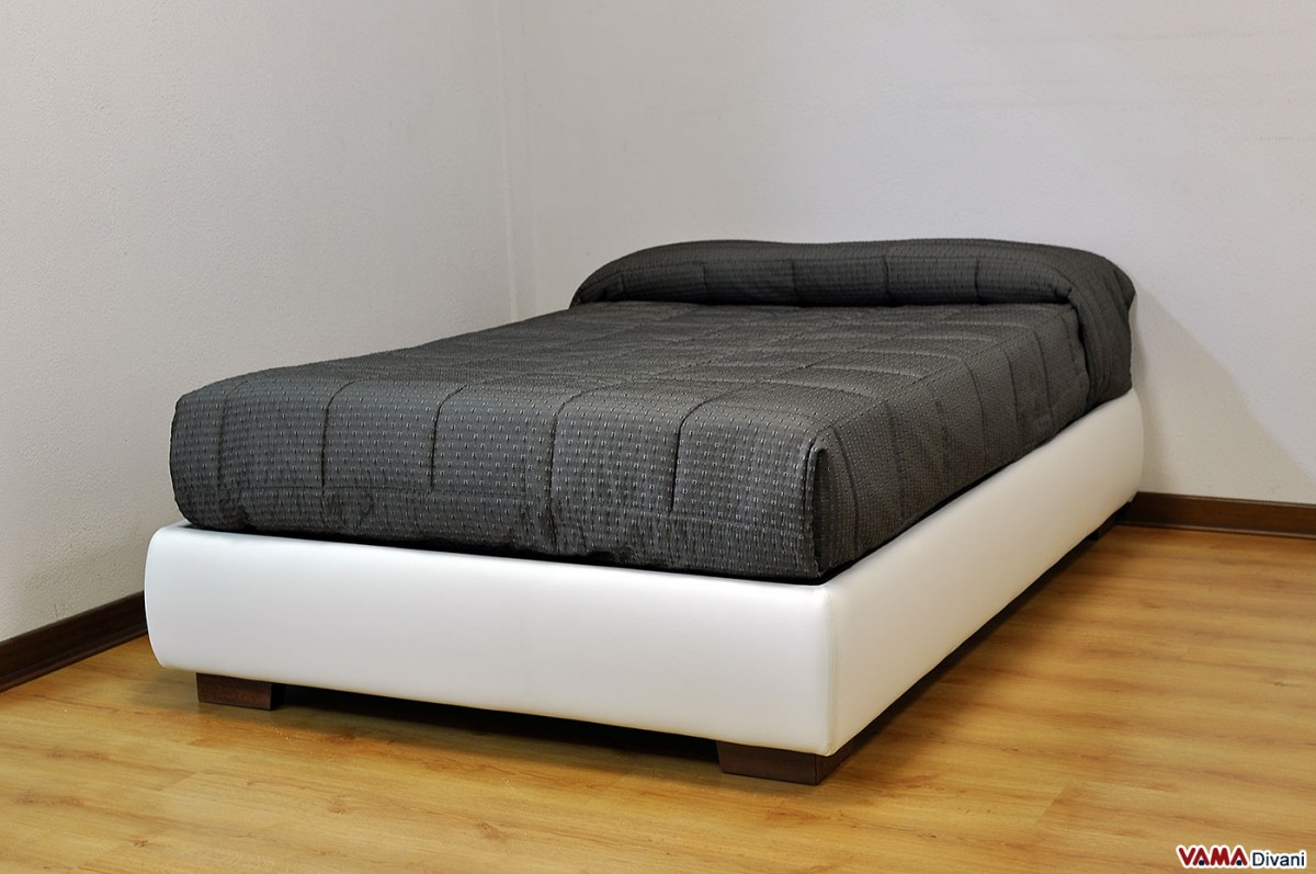 Queen size bed 120 cm with storage box Bed divan