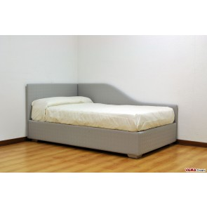 Single bed for your children's bedroom with two headboards