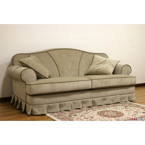 Sofa classic gray with great arm round