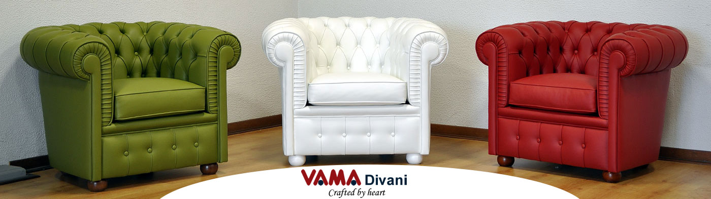 Chesterfield Sofa Made in Italy