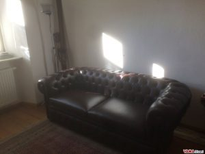 Brown Chesterfield sofa 2 Large seater