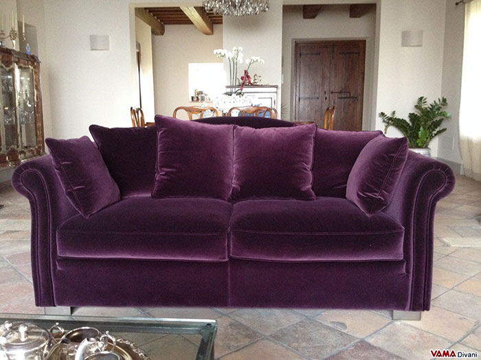 beautiful and comfortable velvet sofas